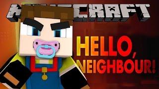 Minecraft Hello Neighbour - BABY HELLO NEIGHBOR!