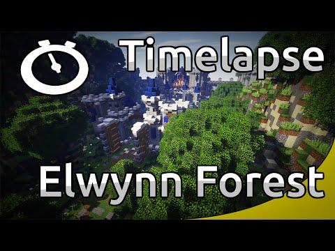 Minecraft Timelapse - RPG map - Elwynn Forest (WoW) [Full HD 1080p]