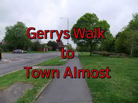Gerrys walk to Town Almost 27 04 2018