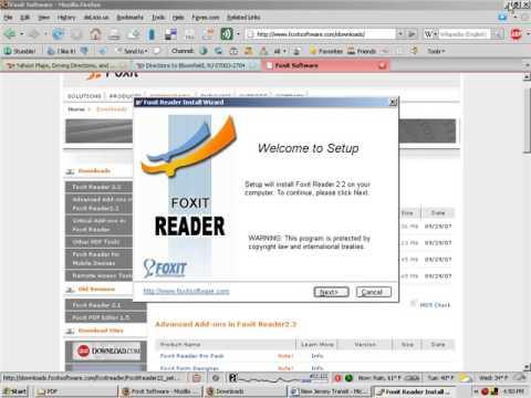 Adobe Acrobat Alternatives - 1 Foxit PDF Reader