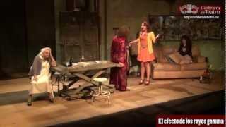 El efecto de los rayos gamma - Obra de teatro presentada por Laura Zapata