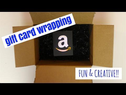 FUN & EASY WAYS to Wrap a Gift Card