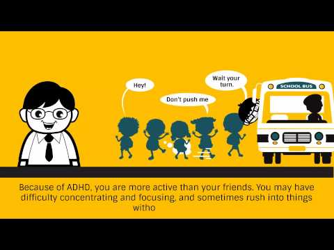What is ADHD [cartoon animation video portfolio]