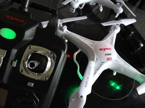 How to Recalibrate & Reset SYMA X5C Quadcopters (EASY)