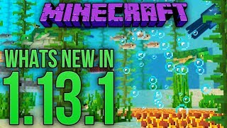 Whats New In Minecraft 1.13.1 Java Edition?