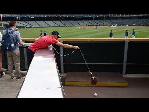 Snagging 20 baseballs *AGAIN* at Safeco Field!!