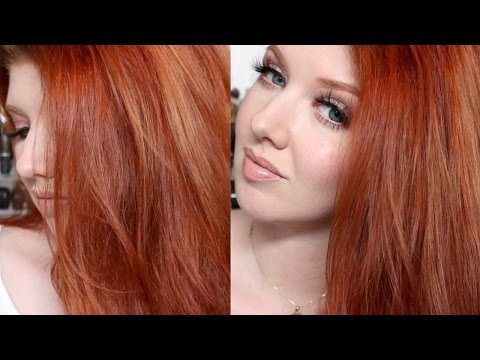 Hair Color Tutorial | My Copper Red Shade Challenge
