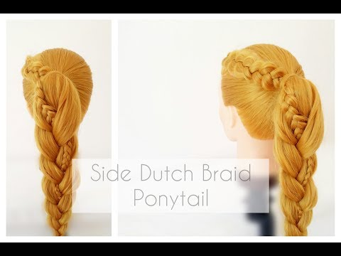 Quick & Easy Hairstyle | Braided Ponytail