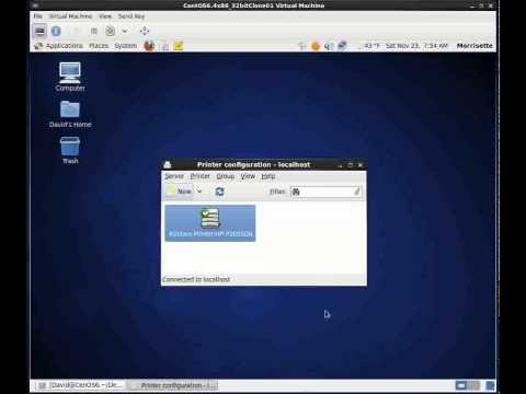 CentOS 6.4 - Install Printer that has and IP address