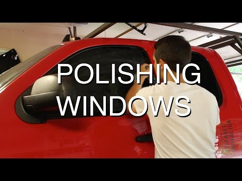 How to Remove Hard Water Marks from Windows