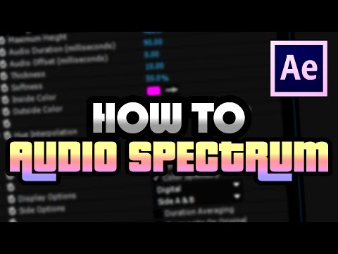 Aces Teaches: How I Create Audio Spectrums For My Music [Adobe After Effects CC]