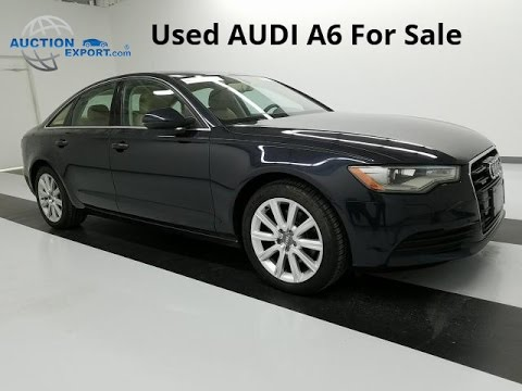 Used Audi A6  for Sale in USA, Shipping to Ukraine