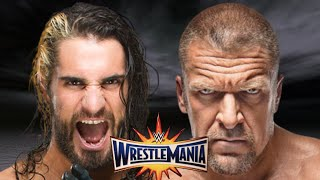 Seth Rollins vs Triple H Wrestlemania 33 Promo HD