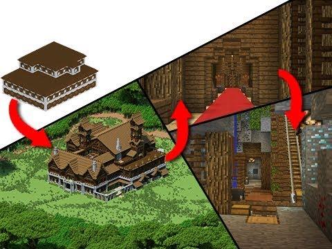 Minecraft's Ultimate Woodland Survival Mansion!