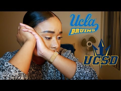 UCLA and UCSD Acceptance Decision 2018
