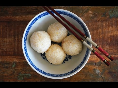 How To Make Hainanese Chicken Rice Balls