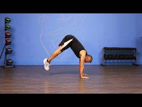 Plank to Pike Jumps