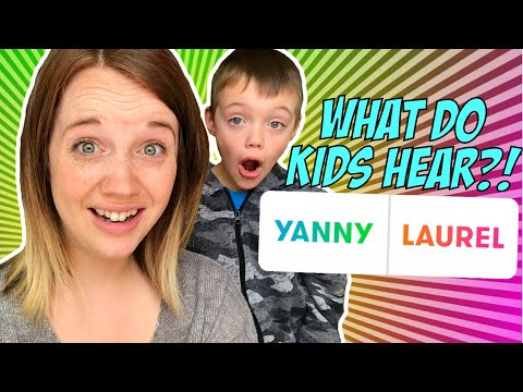 YANNY or LAUREL? What Do Kids Hear?! New Internet Craze by Dilly Dally Kidz
