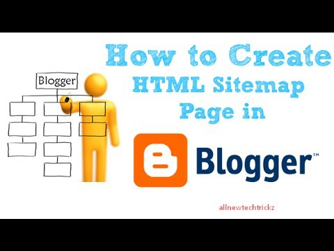 How to Create sitemap Page using Html