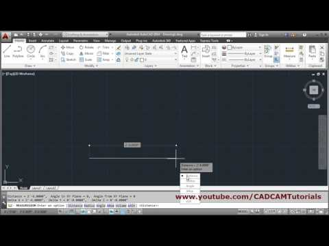 AutoCAD Draw Line in Feet & Inches