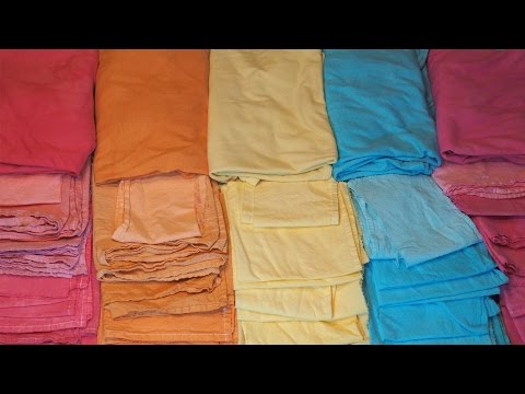 Cotton Fabric Dyeing 101