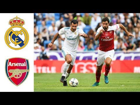Real Madrid Legends v Arsenal Legends | Goals and highlights