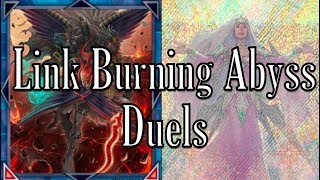 Link Burning Abyss Duels Vs. Spyrals, Trickstars, True Draco, Mermail, Vendreads, Crystrons,  More!