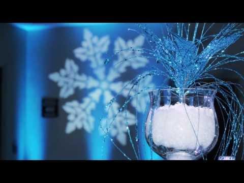 Winter Wonderland Theme Event Lighting