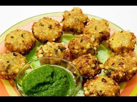 Sabudana vada (sago patties ) recipe | Navratri special