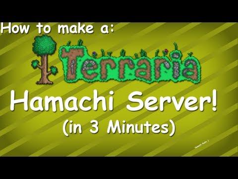 Terraria | How To make a Terraria server with Hamachi