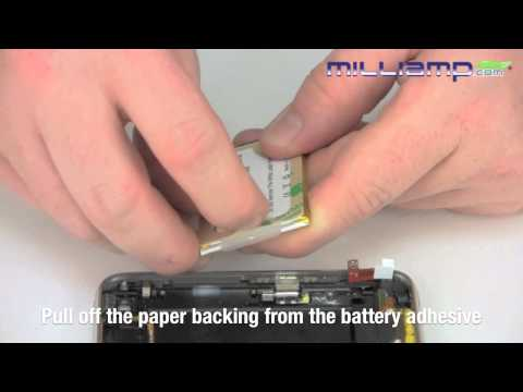 Battery Replacement for Apple's iPhone 3G or 3GS