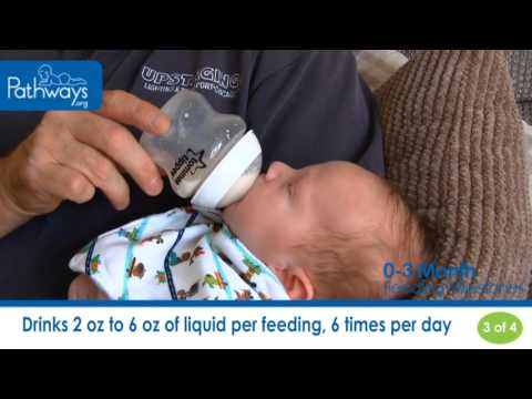 The 0 to 3 Month Baby Feeding Milestones to Look For