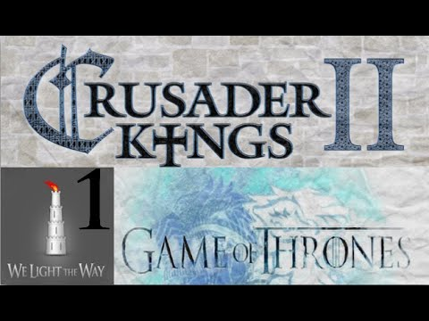 Crusader Kings 2 Game of Thrones: Highly ambitious Hightowers #1 - Setting foundations