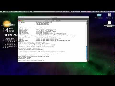 Setting up ADB - Android Development on Apple's Mac