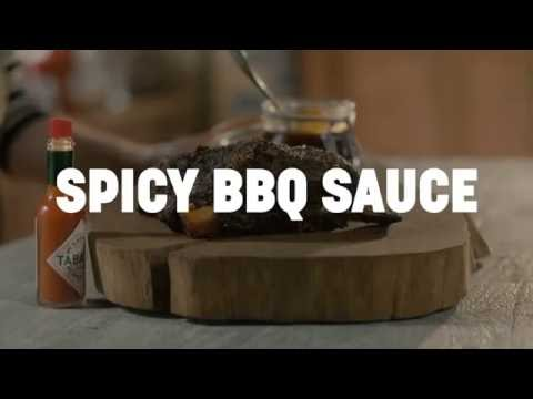 Spicy BBQ Sauce made with TABASCO® Sauce