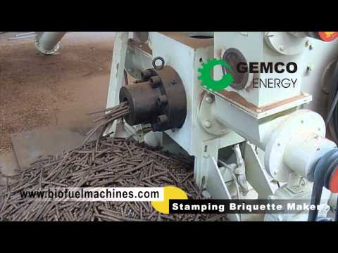 Briquetting machine wows you by making briquettes and pellets NOW!