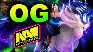 OG vs NAVI - AMAZING GAME - AMD SAPPHIRE OGA DOTA PIT 3 DOTA 2