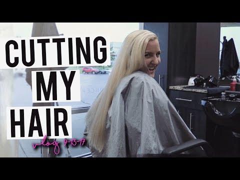 CHOPPING MY HAIR OFF!! NEW SHORT HAIRCUT!!! VLOG 2017 || Kellyprepster