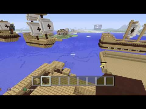 Minecraft pirate ship armada , h.m.s dauntless part 1