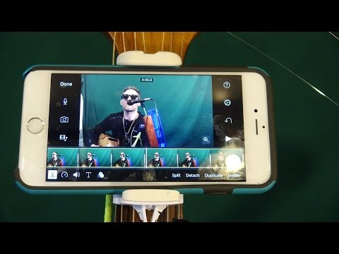 How to Make a Video with Pictures and Music on iphone ipad et ipod toch