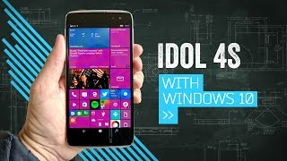IDOL 4S: A Pretty Windows Phone With VR (That You Probably Shouldn