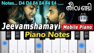Jeevamshamayi thaane Veena cover by Saranya B Mangal - The
