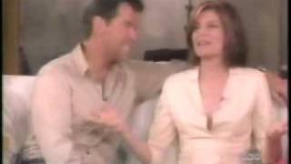 Pierce Brosnan And Rene Russo Interview 1999