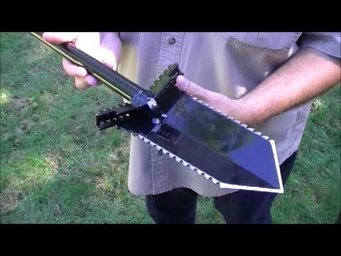 Quick Look at the NX-5 Shovel for Metal Detecting