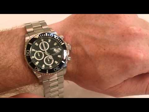 Invicta 1003 Chronograph Pro Diver Watch Review