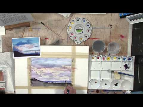 Daler-Rowney - Simply Watercolour 4 - How to painting a skyline (Spanish)