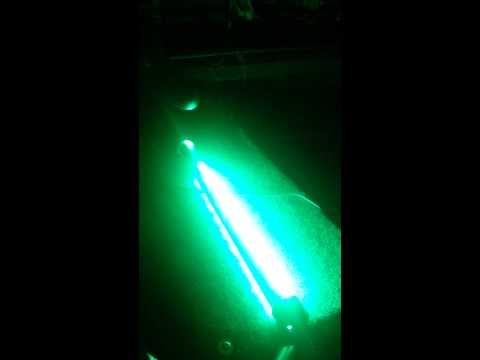 homemade green light for night fishing