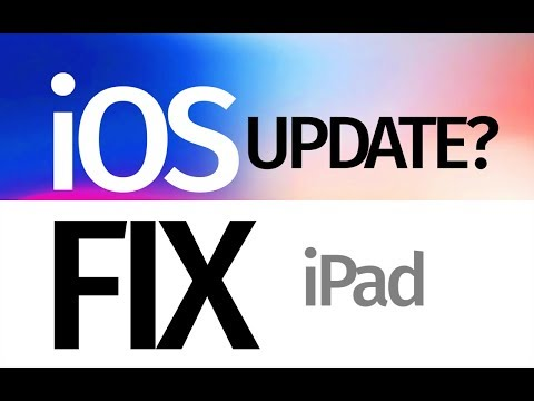 My iPad says the software is up to date but it's not. iOS Fix