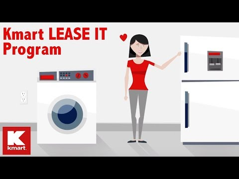 Kmart LEASE IT program: Lease top brands with budget-friendly payments that won't break the bank