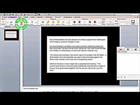 Underline text in powerpoint